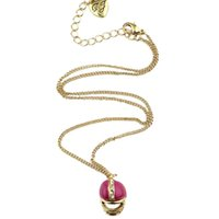 anniversary themes - New Fashion Sports Theme Necklaces National Football Helmet Rhinestone deco Enamel Pendants for Women Fans Style Accessories YH1020