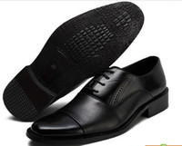Wholesale Mens Business Shoes Genuine Leather Mens Dressing Shoes Big Size Men Pinted Toe Shoes Black And White Men Dress Shoes Mens Brown Dress Shoes