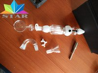 best stock pack - Best selling mm Nectar collector kit honey straw concentrate glass bong in stock with the whole set and good packing for smoking