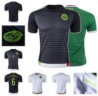 Wholesale Copa América Mexico Soccer Jerseys Thai Quality Mexico Football Shirts G DOS SANTOS CHICHARITO O PERALTA Soccer Jersey