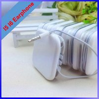 Wholesale High quality Inear Earphone for ip s s Headphone headset with Mic For Galaxy S4 S5 Galaxy Note