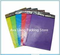 Wholesale 19x30cm x11 inch PE color mailing bags Self seal plastic envelopes poly mailer pouch