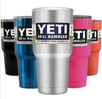 beer bottle boxes - YETI with lid oz oz oz oz oz oz oz YETI Cups beer Mug Bottle Colster Rambl retail package box fast shipping