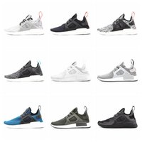 Wholesale 2016 New Releases Cheap NMD Runner Original Primeknit XR1 Micro Pacer Ultra NMD Running Shoes NMD R1 Ultra boost Boots Black White Grey