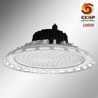 aluminum dia casting - New design ultra thin dia cast aluminum W LED high bay light fixture w led highbay lamp with loop