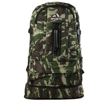 Wholesale Professional Outdoor Sports Camouflage Packs New Style High Capacity Travel Shoulders Bags Mens Mountain Climbing Backpacks