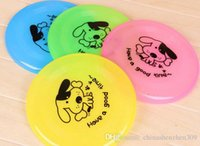 Wholesale Dog Frisbee Flying Discs Sports Frisbee UFO Shape Diameter CM Tomtop Multiple Colors Pink Blue Yellow Green Pet Toys Gift