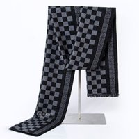 archive box - New Pattern Winter Korean Man Cashmere Scarf Men s Fashion High Archives Scarf Gift Box