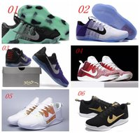 Wholesale 2016 Classic Kobe XI Elite Basketball Shoes Men KB Low New Arrival Sneakers Cheap Weaving Kobe Bryant Boots Size With Box