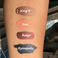 Wholesale KylieLip Metal Matte Lipstick by Kylie Jenner color Heir King K Reign Kymajesty each Lip gloss High quality