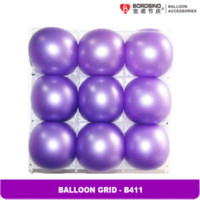balloons inflation - B411 bag holes Balloon Grid bags for coffee beans bag inflation
