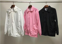 Wholesale cheap anti social club windbreaker jacket for men women harajuku streetwear trasher kanye west wind breaker jaqueta masculina