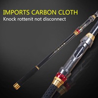 Wholesale Hot Sale Fashion M M M M M Black Carbon Fiber Material Fishing Rods For Outdoor Fishing CL52