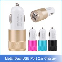 amps to volts - Metal Dual USB Port Car Charger Universal Volt Amp for Apple iPhone iPad iPod Samsung Galaxy Motorola Droid Nokia Htc