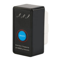 Wholesale H09 V2 MINI ELM327 Bluetooth Power Switch ELM Version OBD2 OBDII for Android Torque Car Code Scanner