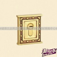 auxiliary contact - Goodlink genuine Thai good copper lock antique copper warehouse auxiliary lock lock channel lock lock LD1214 RG contact