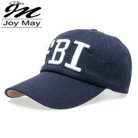 Wholesale High quality Retail pc JoyMay Hat Cap FBI Fashion Leisure embroidery CAPS Unisex Baseball Cap B049