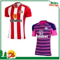 Wholesale 16 Sunderland fooball shirts Sunderland home and away jersey