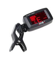 Wholesale High Quality Guitar Tuner Mini Degree Rotatable Clip Clip on Tuner for Chromatic Guitar Bass Violin Ukulele