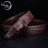 Wholesale Guangzhou belt manufacturers straight for men s leather strap crocodile leather belt leather belt men s leather belt etc