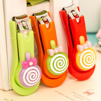 baby nail scissors - cute various types stainless steel baby nail clipper New Nail Clippers Fashion Colorful Cute Cartoon Nail Finger Clipper Scissor N01