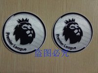 badges games - 2 white soccer patch season game city soccer Badges
