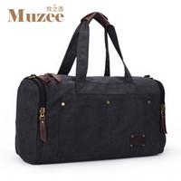 basketball duffle bags - 2016 Muzee Travel Bag Large Capacity Men Hand Luggage Travel Duffle Bags Canvas Weekend Bags Multifunctional Travel Bags