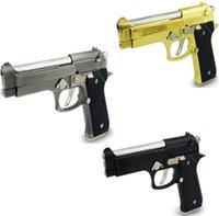 Wholesale HOT Pistol Model Nerf Gun Bullet Refill Dart Gun Revolver Metal Toy Gun Nerf Armas De Pistola Metal Nerf Guns cm Desert Eagle Metal GIFT