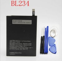 Wholesale Original Battery For Lenovo P70 Battery BL234 mAh li ion Back up Battery For Lenovo P70 P70t P70 T Smartphone Batteries