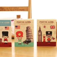 Wholesale Pics X cm Flag France Uk United States Cute Notebook Note Book School Supplies Agenda Kawaii