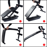 arc exercise - Folding Arc shaped Sit Up Bench Gym Home Exercise Fitness Workout