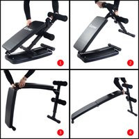 Precio de Entrenamientos en casa-Plegable en forma de arco Sit Up Bench Gym Home Ejercicio Fitness Workout
