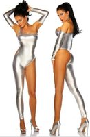 american apparel bodysuit - The European and American apparel sexy jumpsuit bright color rompers womens jumpsuit sexy bodysuit club jumpsuits for women