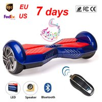 Wholesale Hover Board with Bluetooth Hoverboard Scooter UL inch wheels Self Balance Unicycle Drift Electric Skywalker Birthday Gifts