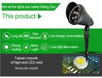 Wholesale plug lights led lawn projection lamp round plug ground lamp courtyard garden tree lights buried lights LED