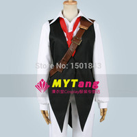 Wholesale Anime The Seven Deadly Sins Meliodas Cosplay Costume Full Set Any Size
