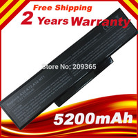 Wholesale New Laptop battery for Asus A32 N71 A32 K72 K72 K72F K72D K72DR K73 K73SV K73S K73E N73SV
