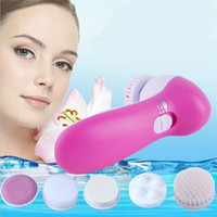 Wholesale Hot in E Wash Face Machine Facial Pore Cleaner Body Cleaning Massage Mini Skin Beauty Massager Brush PTSP Skin Care Tools