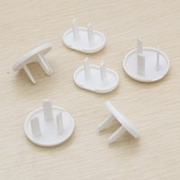 Wholesale 500pcs Children Security Socket Cover Socket Cap The Electricity Protection Cover ABC Resin Cover Three Holes