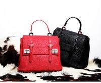 Wholesale 2016 new female bag euramerican style document bag use cow leather handbag NO its