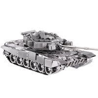 Wholesale Freeshipping Piececool T A Tank P047 S DIY Toy D Laser Cut Models Metal Puzzle For Kids Gifts