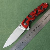 bee blade - Enlan BEE L04 Tactical Pocket EDC Outdoor Camping Hunting Survival Folding Knife Cr13MoV Blade Red Black Wood Handle Tool Knives