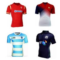 Wholesale Super rugbyscotland home rugby jersey best quality direct in stock spot send rugby wales