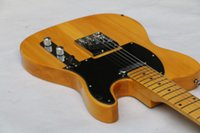 american telecaster body - Custom Shop Vintage American Deluxe Aged Telecaster Electric Guitar Butterscotch Blonde Black Pickguard