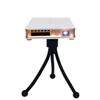 Wholesale Mini DLP Projector Android WiFi Support Airplay Miracast HD WIFI Micro p MA proyector pocket projector