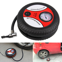 ball compressor - Emergency DC V Auto Car Portable Electric Tire Inflator Inflatable Pump Mini Air Compressor for lifebuoy balls