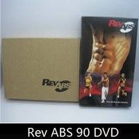 Wholesale Rev abs DVD Base Kit DVDs Exercise Fitness Videos Exercize Videos Workout days exercise for strong body