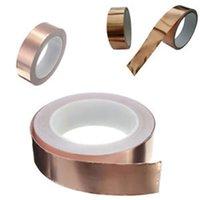 adhesive copper foil - 2016 online shopping High electric conductivity copper foil tape electric cooper foil onductive glue copper adhesive foil tape