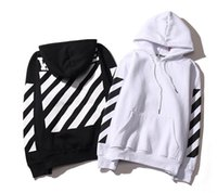 Wholesale men hoodie hooded sweatshirt hoody off white fashion brand clothing mens tops tracksuits hoodies sudaderas hombre