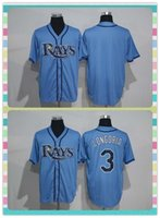 bay products - New Product Men s Tampa Bay Rays Baseball Jersey Blank Evan Longoria Light Blue Stitched New Style Jerseys